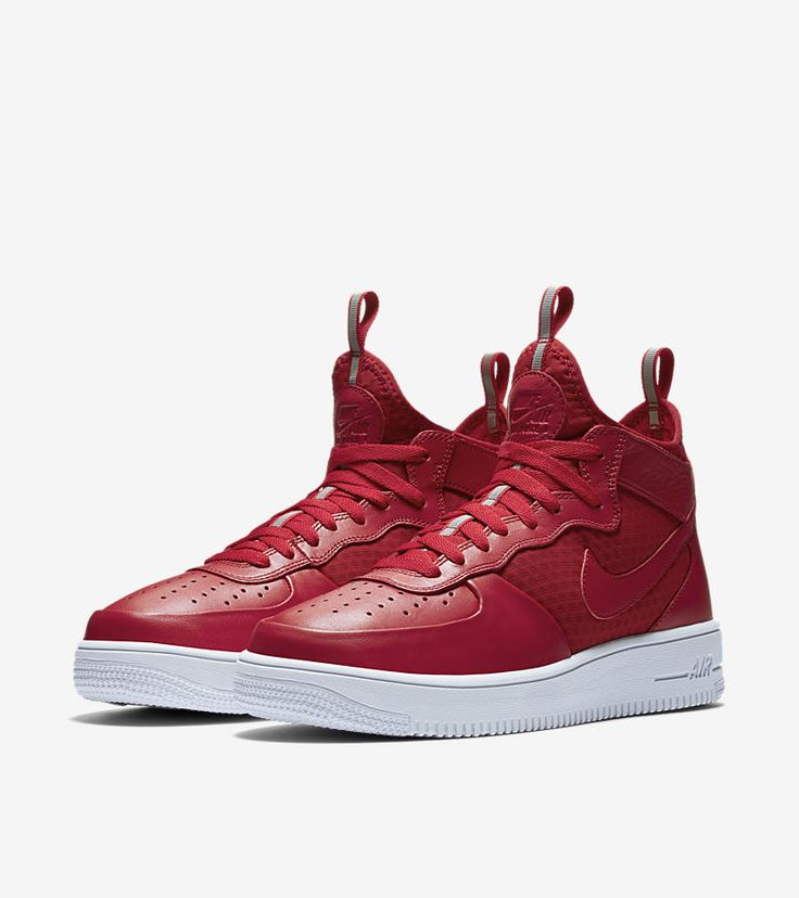 Nike Air Force 1 Ultra Mid Red pair