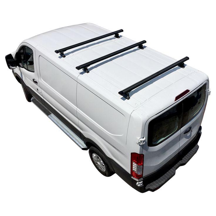 H3 Ladder Roof Rack for Ford Transit Cargo Vans 2015On