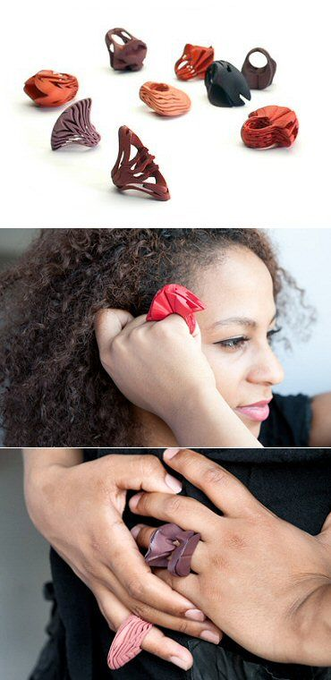 TheCarrotbox.com modern jewellery blog : obsessed with rings // feed your fingers!: Laura Rittlinger / Miwary