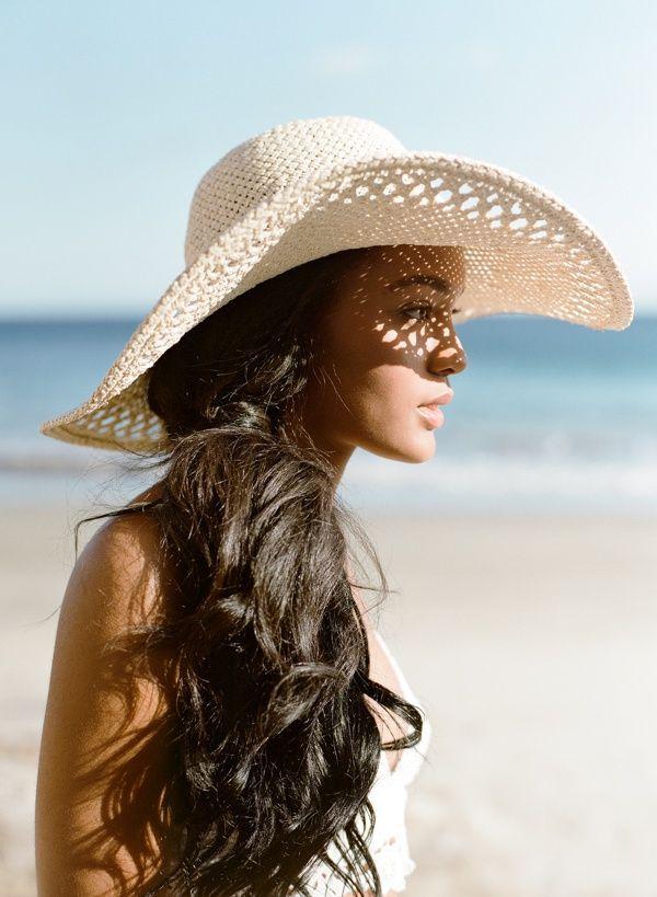 California Beach Editorial – TEAM Hair and Makeup (Jose Villa Photographer) – caitlin serrano