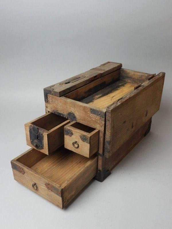 Japanese tool box opened