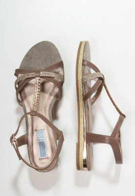 pier one sandaly taupe pi911i00g