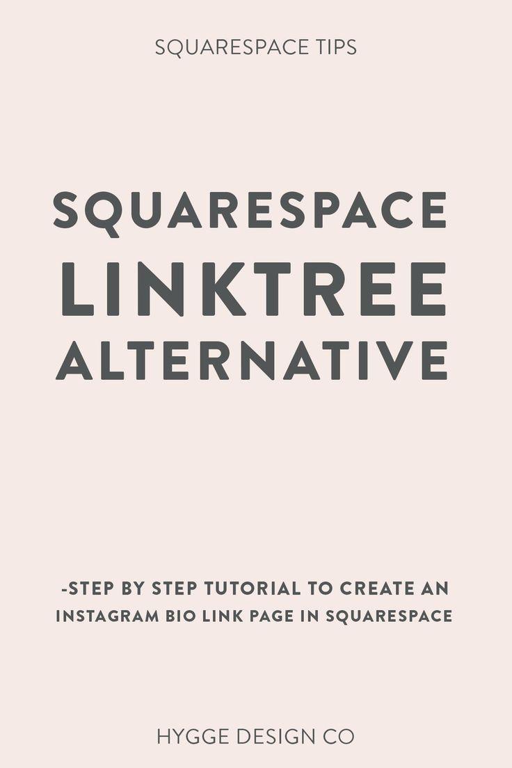 Squarespace Linktree Hack