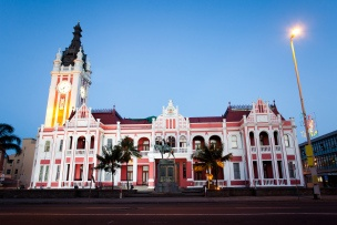 City Hall of East London, South Africa. Situated in the city center.