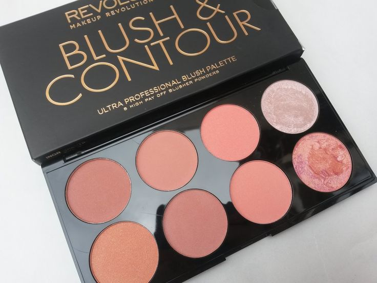 ♥ A British Sparkle ♥: 8 Day's With Makeup Revolution | Blush & Contour Palette