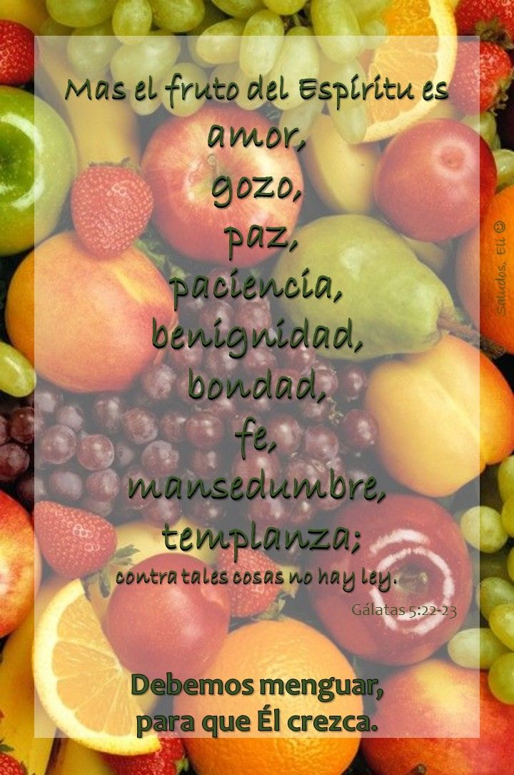 Frutos de Espíritu Santo