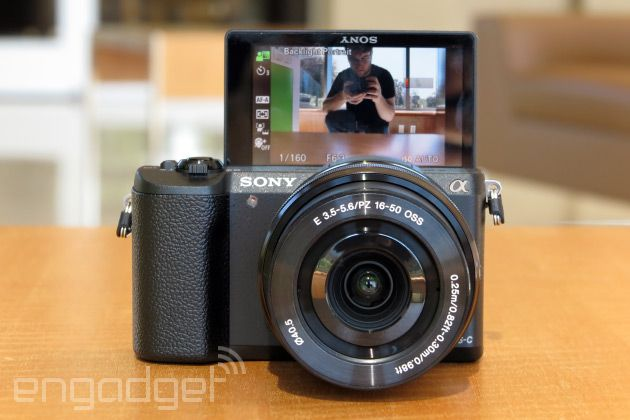 Sony Alpha 5100 is the smallest APS-C camera with a built-in flash