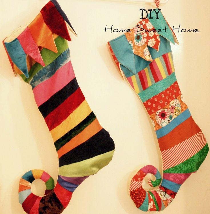 elf stockings: Christmas Elf, Elf Stockings, Christmas Stockings, Christmas Decor, Diy Home, Sweet Home, Sewing Machine, Christmas Projects, Diy Christmas