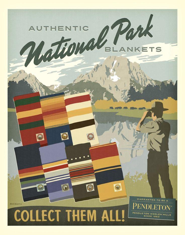 Pendleton National Park Blankets
