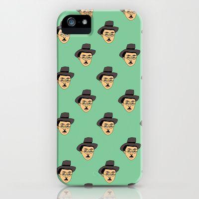 Fernando Pessoa iPhone & iPod Case by dua2por3 - $35.00