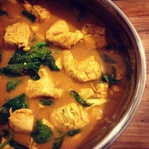 skinnymixer's Chicken Madras