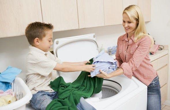 Порядок в доме - гармония в семье:  Какие домашние дела можно делать вместе с детьми?