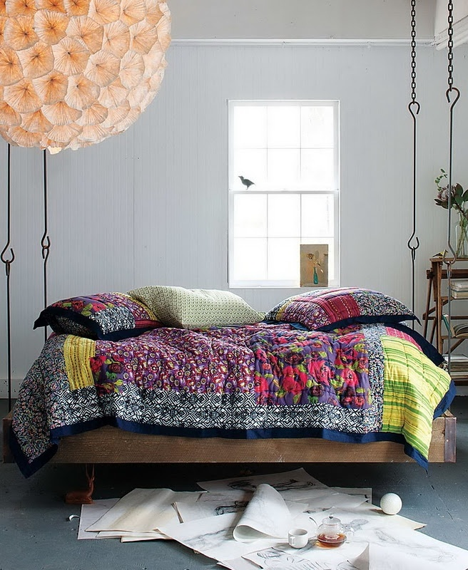 Anthropologie hanging bed