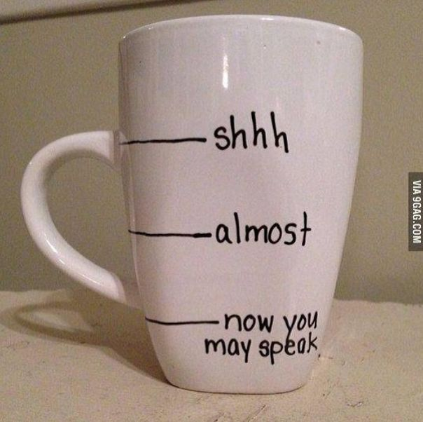 Now You May Speak: Another Cool Coffee Mug