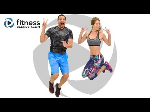 Fitness Blender's Fat Burning/Cardio/Upper Body from the 5 Day Workout Challenge for Busy People. Check out my review of the series at http://www.lessonswithlarissa.com/fitness-blender-review-5-day-workout-challenge/