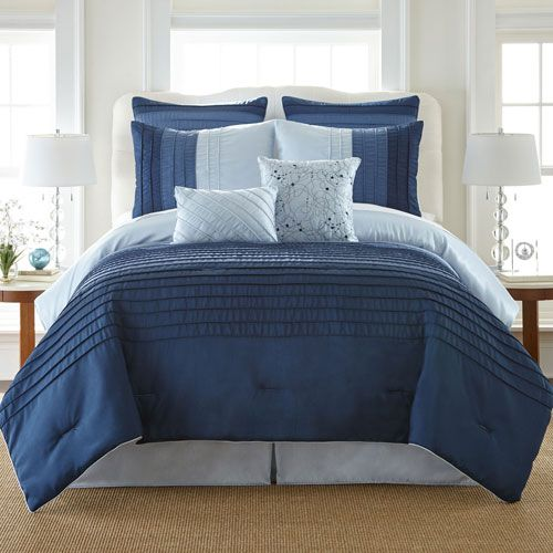 Ocean Drive California King Eight-Piece Comforter Set - (In No Image Available)