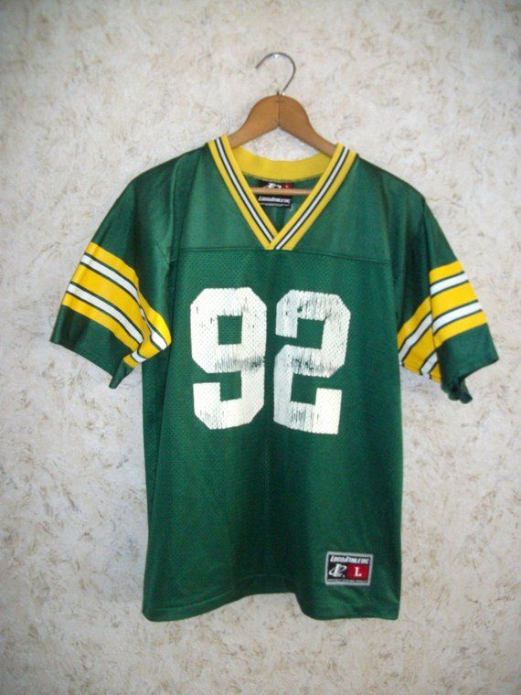 brand new f4533 40bbe 90s REGGIE WHITE Green Bay Packers Jersey Youth Boys Girls ...