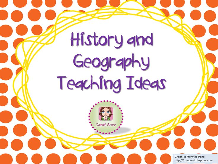 A collection of resources and ideas to use when teaching history & geography in K-6