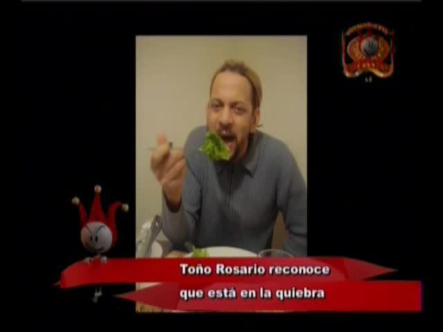 Toño Rosario Admite Que Está En Quiebra #Video