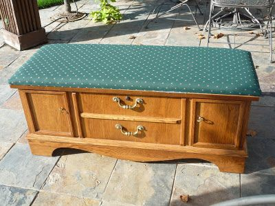 Furniture Fix: Refinishing a Cedar Hope Chest