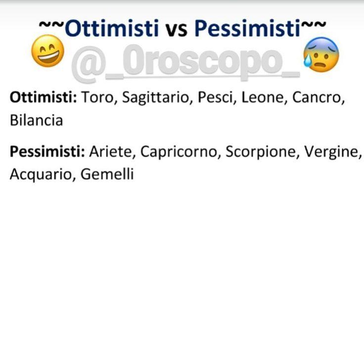 """Mi piace"": 32, commenti: 1 - Oroscopo (@_0roscopo_) su Instagram: ""Io Pessimista , voi? Mainagioia . . . . .…"""