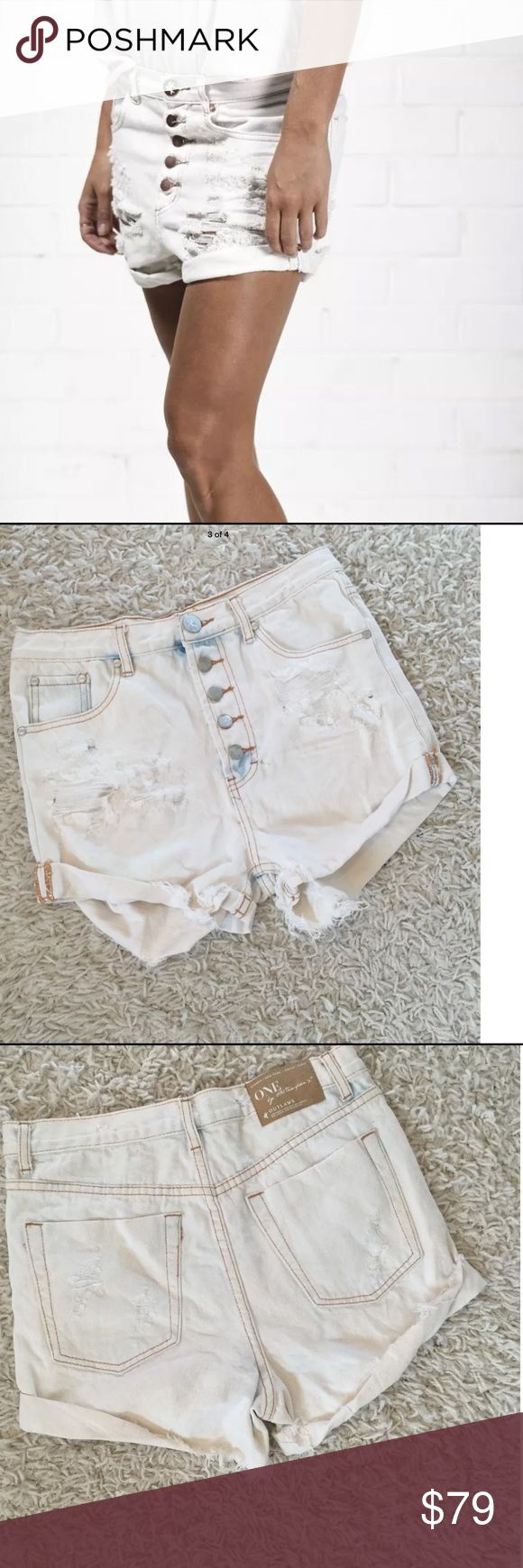 One teaspoon shorts outlaw Sz 26 New without tag One Teaspoon Shorts