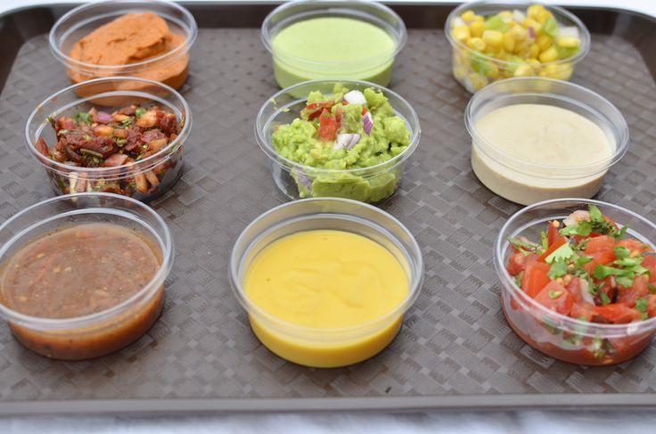 Gringos Amigos dips! You can choose many!  Sok finom szósz közül választhatsz!