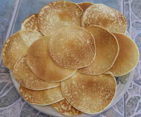 Recipes for different types of unleavened bread, pancakes, etc.