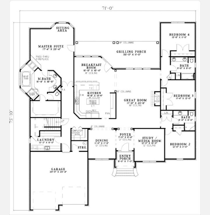 371 Best Open Floor Plan Decorating Images On Pinterest: Houses, Decorating Ideas And