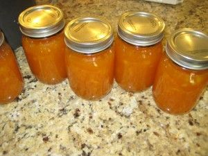 Apricot-Pineapple Jam ~ Tip:  Add about 1/4 tsp butter when you done boiling and most of the foam will disappear!