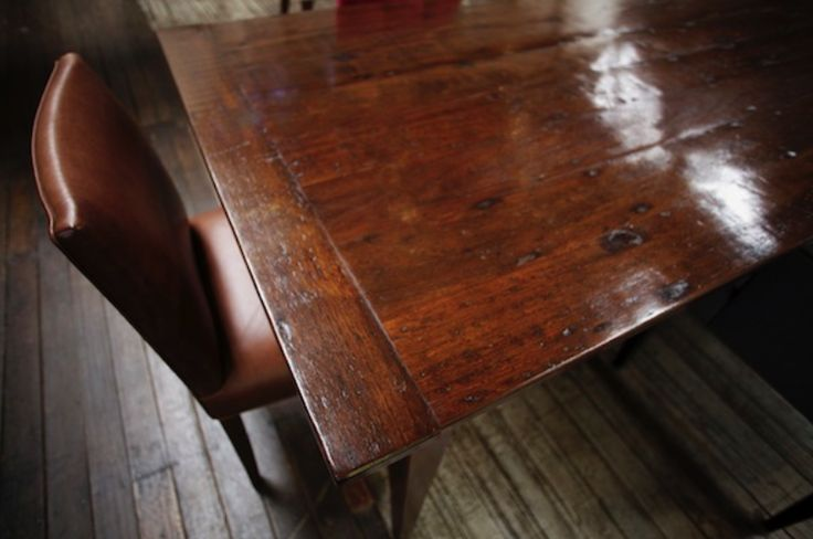 Vintage Blackbutt with Tess Dining Chair