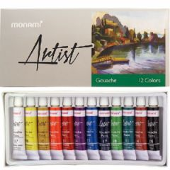 Monami Artist Guaj Boya 12 Renk