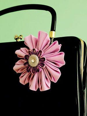 Kanzashi Craft, Fabric Flower