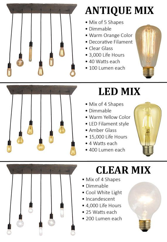 Kitchen Lighting - 7 Pendant Wood Chandelier  All Chandeliers are custom and…