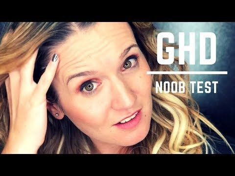 (43) The ghd Gold not a beauty blogger test - YouTube