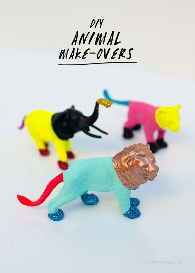 DIY Easy Animal Makeovers | Love From Ginger #play