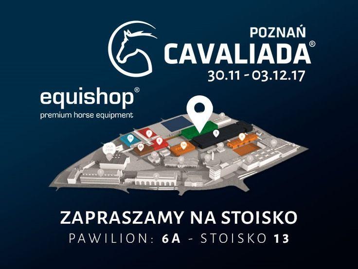 Stoisko Equishop na targach CAVALIADA 2017 w Poznaniu
