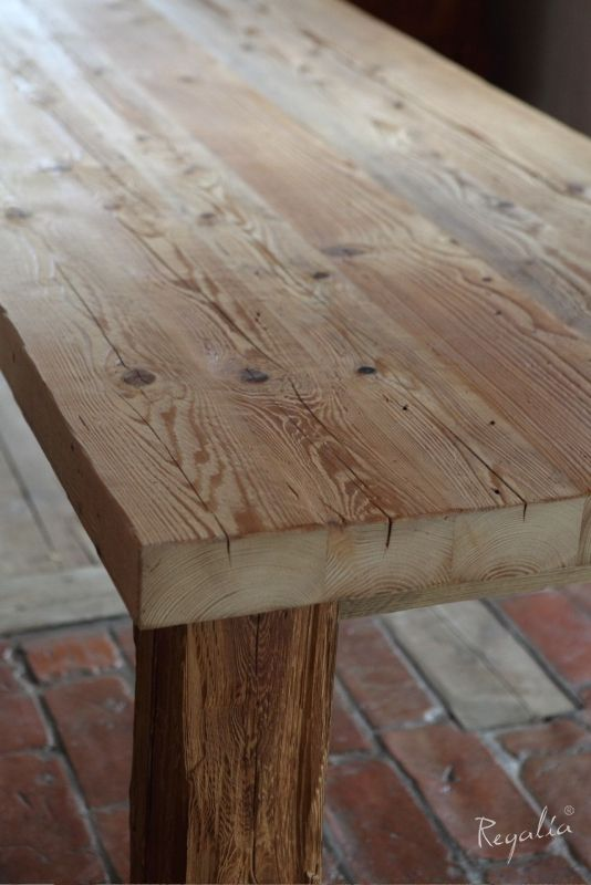 stół drewniany stół ze starego drewna