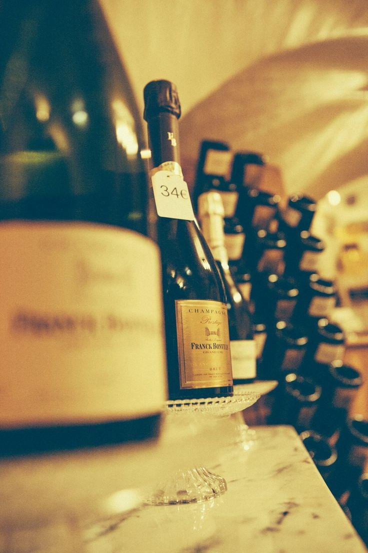 """Franck Bonville """"Prestige"""" Brut Blanc de Blancs Champagne   92 points Wine Spectator"""