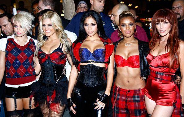Nicole Scherzinger Photos: The Pussycat Dolls Perform At The Hollywood & Highland Courtyard