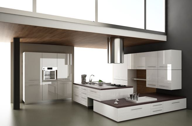 33 Modern white contemporary and minimalist kitchen designs