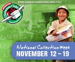 Operation Christmas Child -- Pack your Shoebox! #OCCGiving