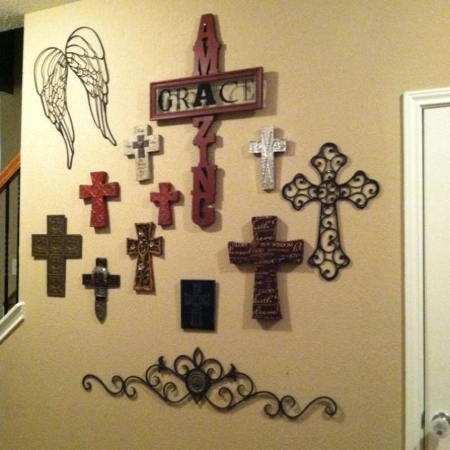 148 best Wall cross walls images on Pinterest | Cross walls, Wall ...