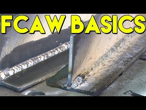 Learn How to Flux Core Weld: FCAW Basics | MIG Monday - YouTube