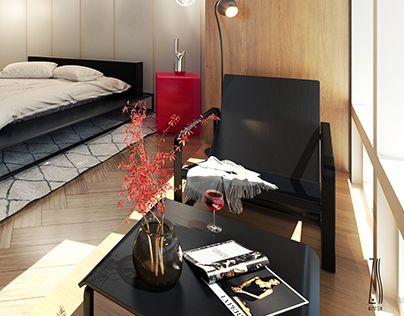 "Check out new work on my @Behance portfolio: ""Modern Apartment ""MI"""" http://on.be.net/1GOPNdI"