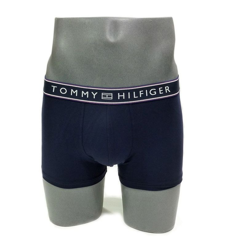 BOXER MICROFIBRA en azul marino. Nuevo modelo para un clásico de los boxers en microfibra liso de Tommy. 1U87906052 416. Oferta: 25,50 €. Envio Urgente.