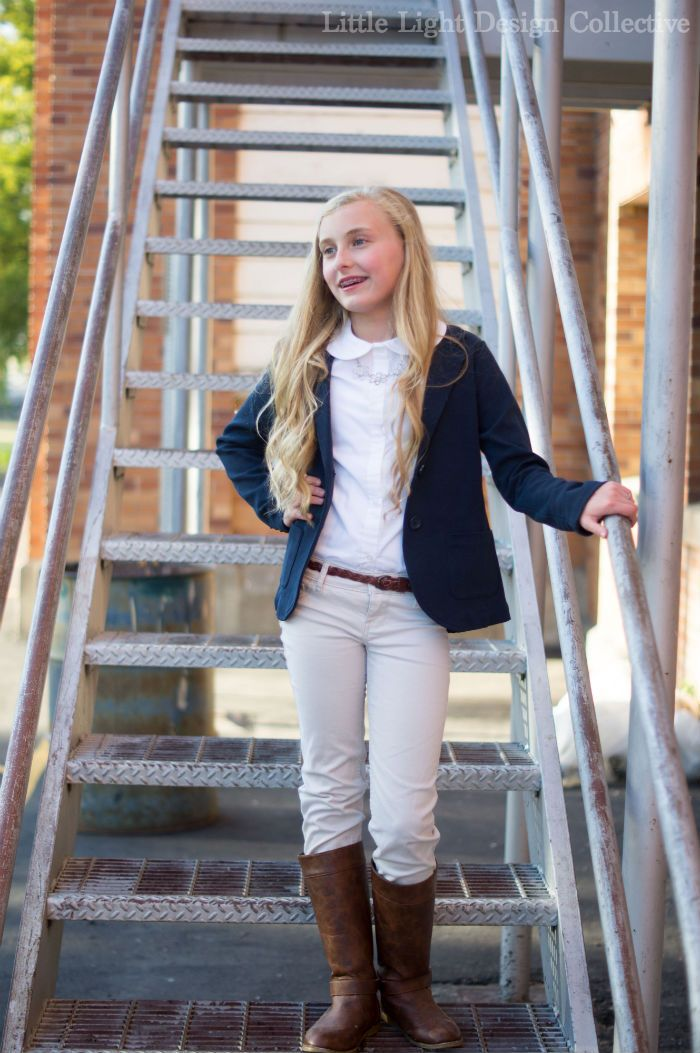 ways to style school uniforms