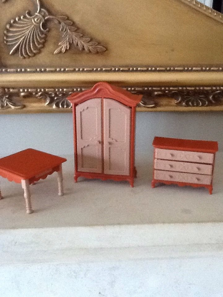 JEAN OF WEST GERMANY, RARE VINTAGE,60/70s ? DOLLS HOUSE FURNITURE, GOOD.NO BOX. | eBay