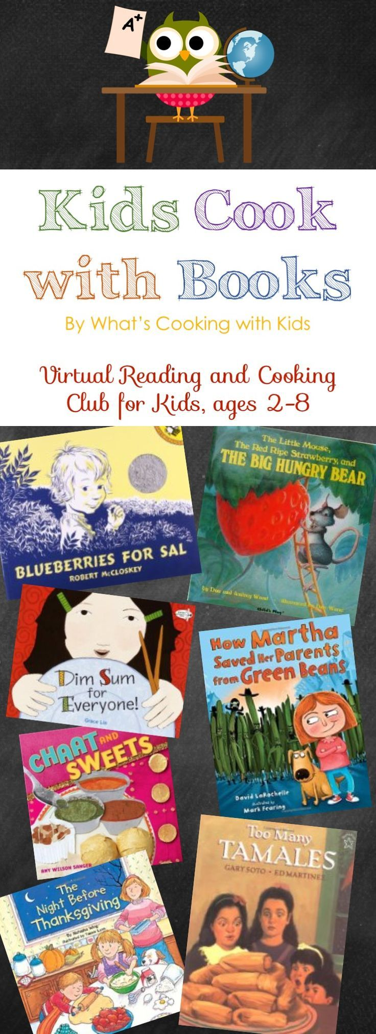 Kids Cook with Books