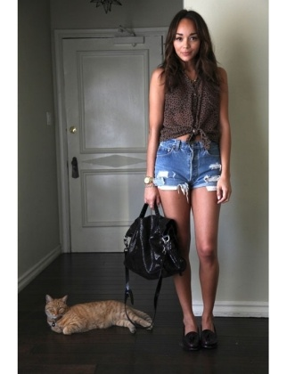 casual.: Outfits, Fashion, Articles, Style, Denim Cutoffs, Ashley Madekwe, Seven Days, Cut Offs, Lucky Magazine